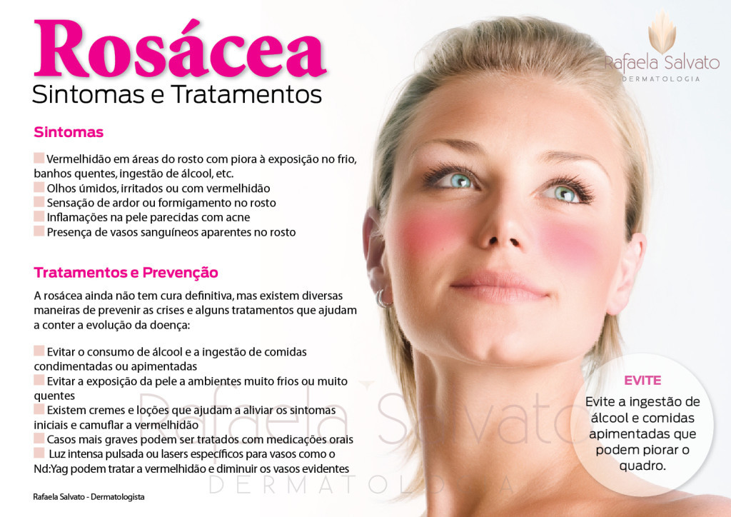 rosácea dermatologista florianopolis Rafaela Salvato