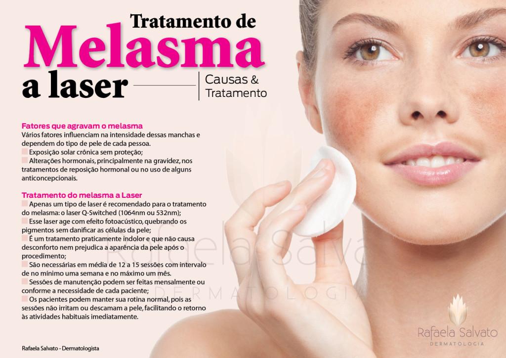 Tratamento do Melasma a Laser dermatologista em florianopolis SC