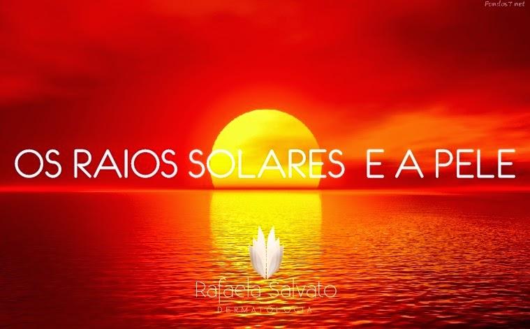 Raios solares e a pele